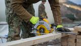 Seabees with 22nd NCR Build Camp Improvements in Voll, Norway [Image 1008]