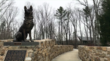 K9 Working Dog memorials at NMMC
