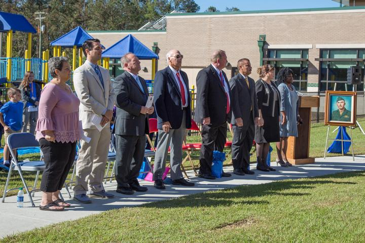 New 21st Century School dedicated to USMC Lt. Col. [Image 35]