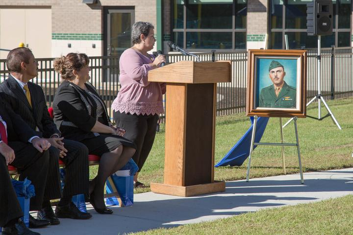 New 21st Century School dedicated to USMC Lt. Col. [Image 9]