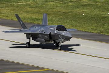 F-35B Lightning II aircraft conduct show of force in response to North Korea missile launch