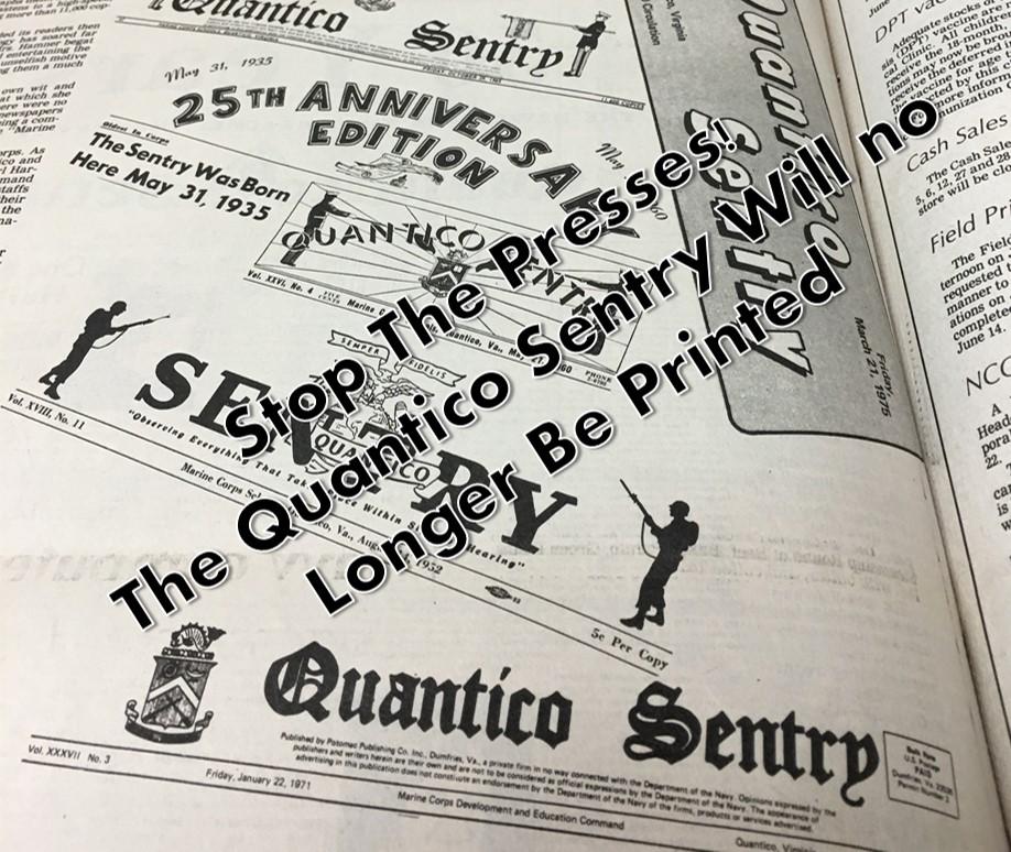 Quantico Sentry Takes A Bow