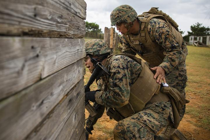 Rush the Enemy | Marines with 3rd MLG execute fire and movement range [Image 1285]