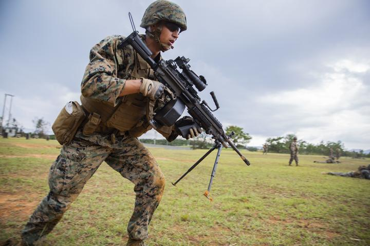 Rush the Enemy | Marines with 3rd MLG execute fire and movement range [Image 1319]