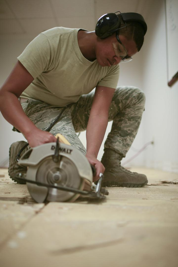 149th Civil Engineer Squadron performs demolition [Image 635]