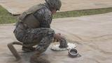 Walk the Line   Marines with Bulk Fuel Company assemble a fuel site [Image 1646]