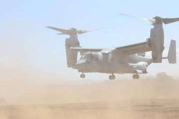 VMM-161 supports 5th Battalion, 11th Marines with CAS EVAC