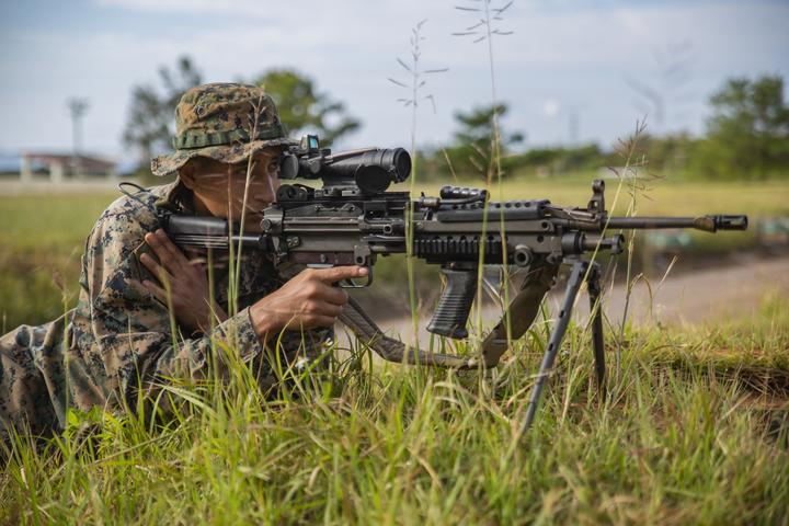 Rush the Enemy | Marines with 3rd MLG execute fire and movement range [Image 1023]