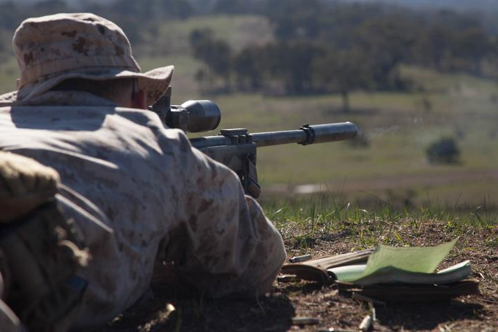 M40 guides snipers to target