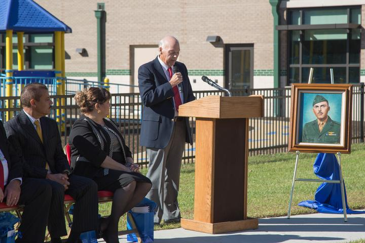 New 21st Century School dedicated to USMC Lt. Col. [Image 18]