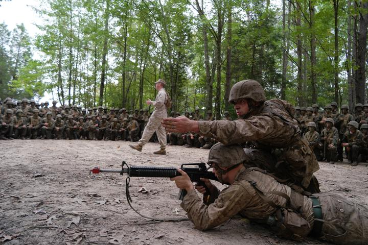Charlie Co. Conducts Combat Course